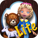 Goldilocks and the three bears - Book & Games (Lite) mobile app icon