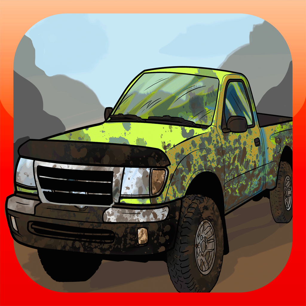 A Dirt Road Heavy Duty Muscle Car Racing Game Free